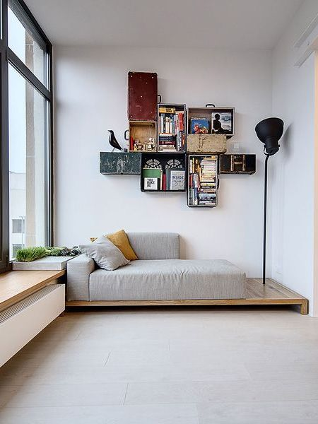 HOME-DZINE   DIY Sofa - You can buy foam products cut to size from