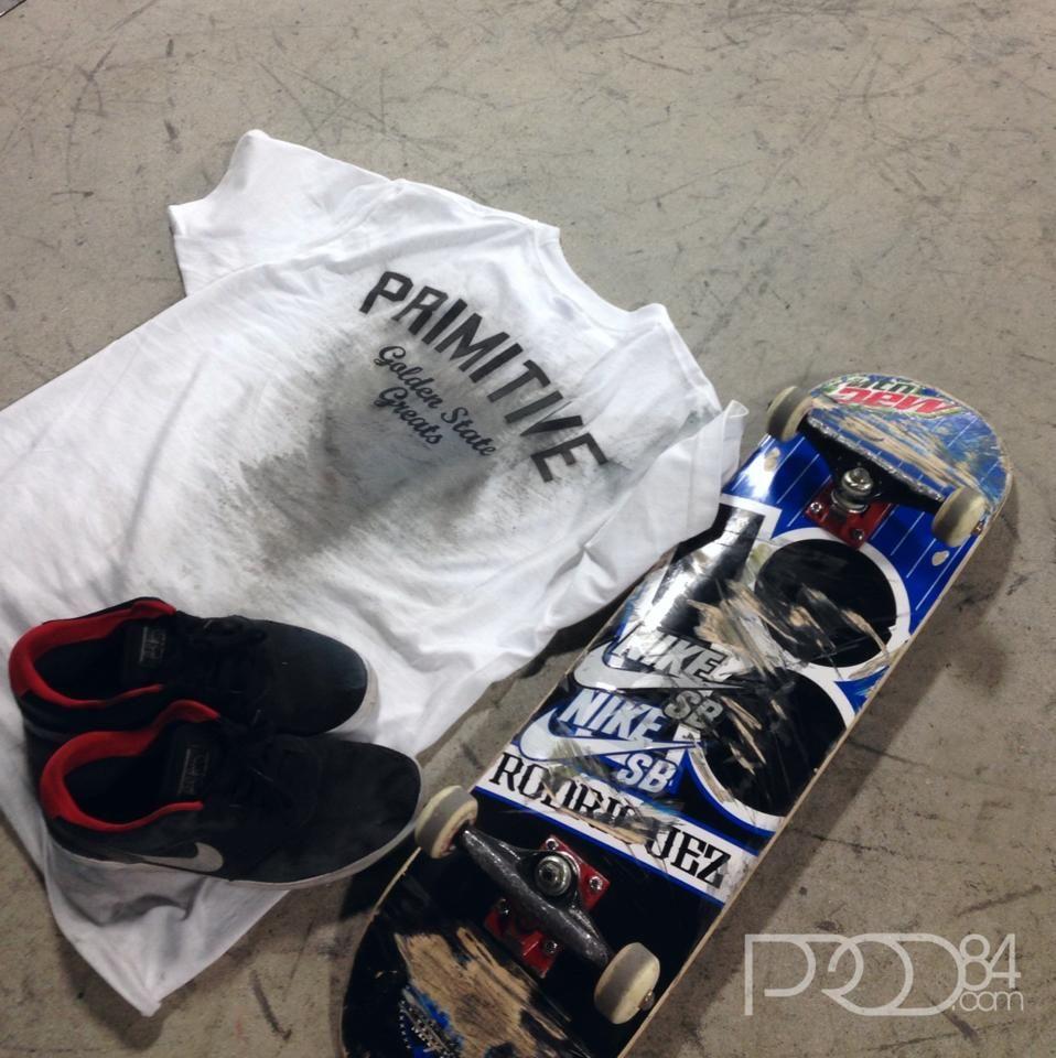 All in a days work!! Primitive Apparel, PlanB, Nike Skateboarding