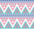 Tribal aztec colorful seamless pattern vector ornament ethnic Stock Image