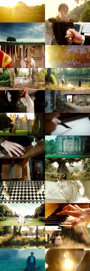 Cinematography - Pride and Prejudice (2005)