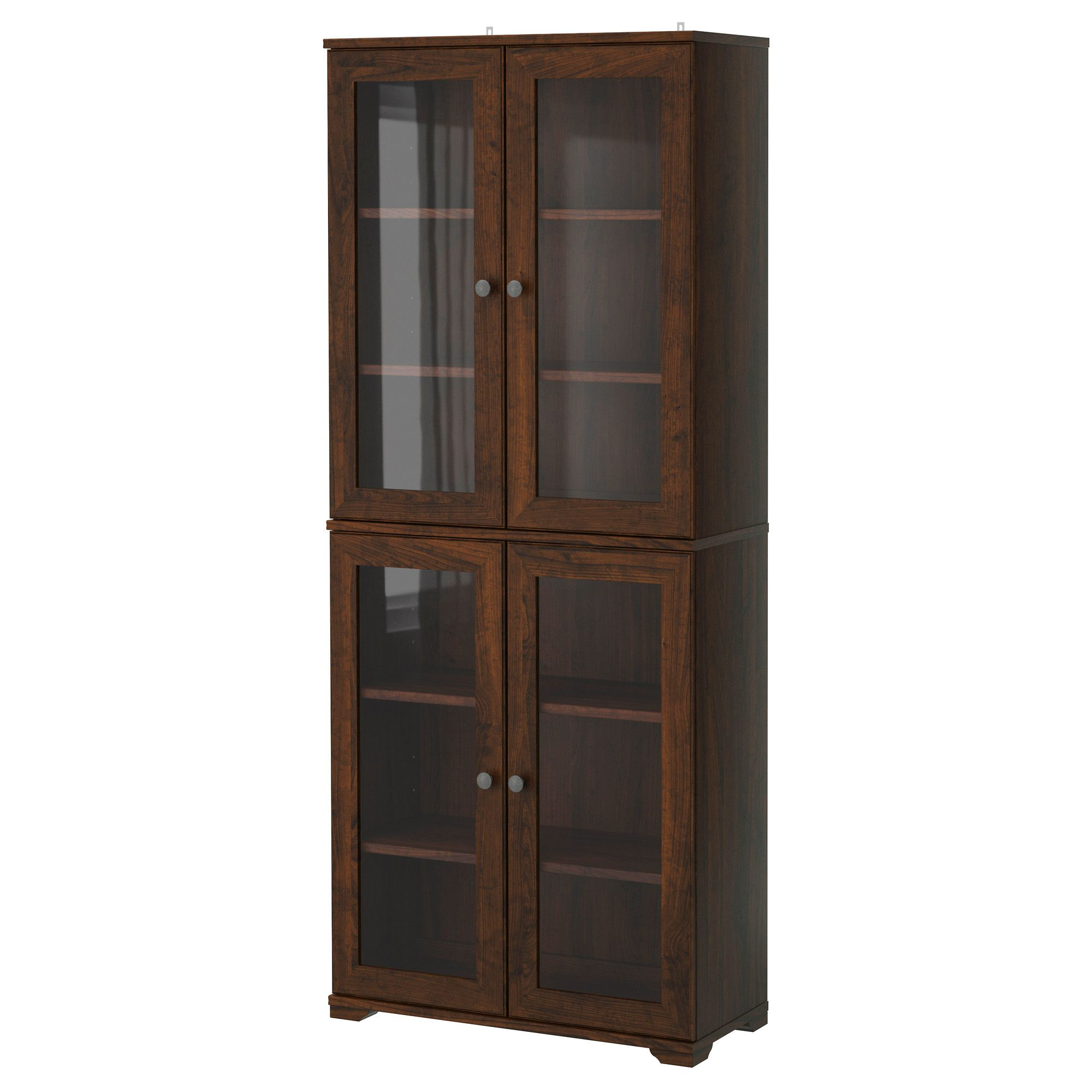 Glass Door Cabinet Tjusig Fabric Storage Pantry Cabinets And Pantry