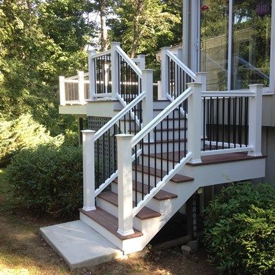 Best This Beautiful Decking And Railing Replacement Project 640 x 480