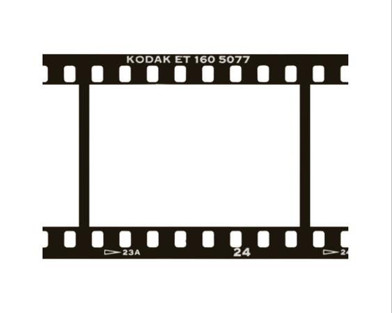 The Contact Sheet Photo Negative Polaroid Frame Framed Tv