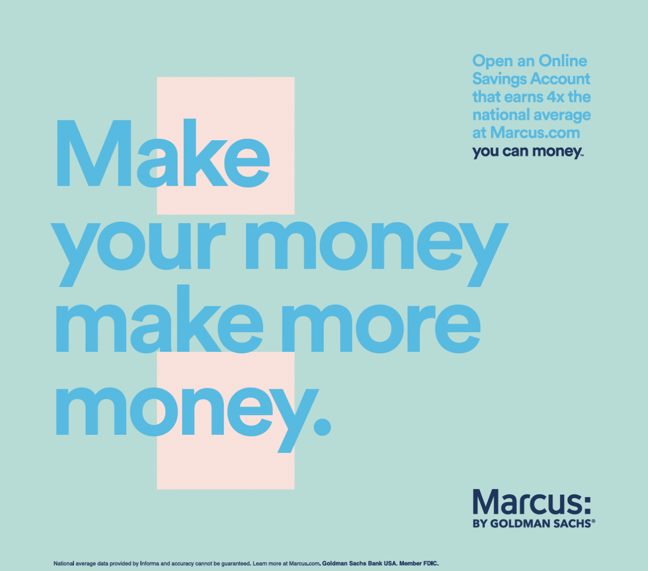Marcus by Goldman Sachs You Can Money by 72andSunny