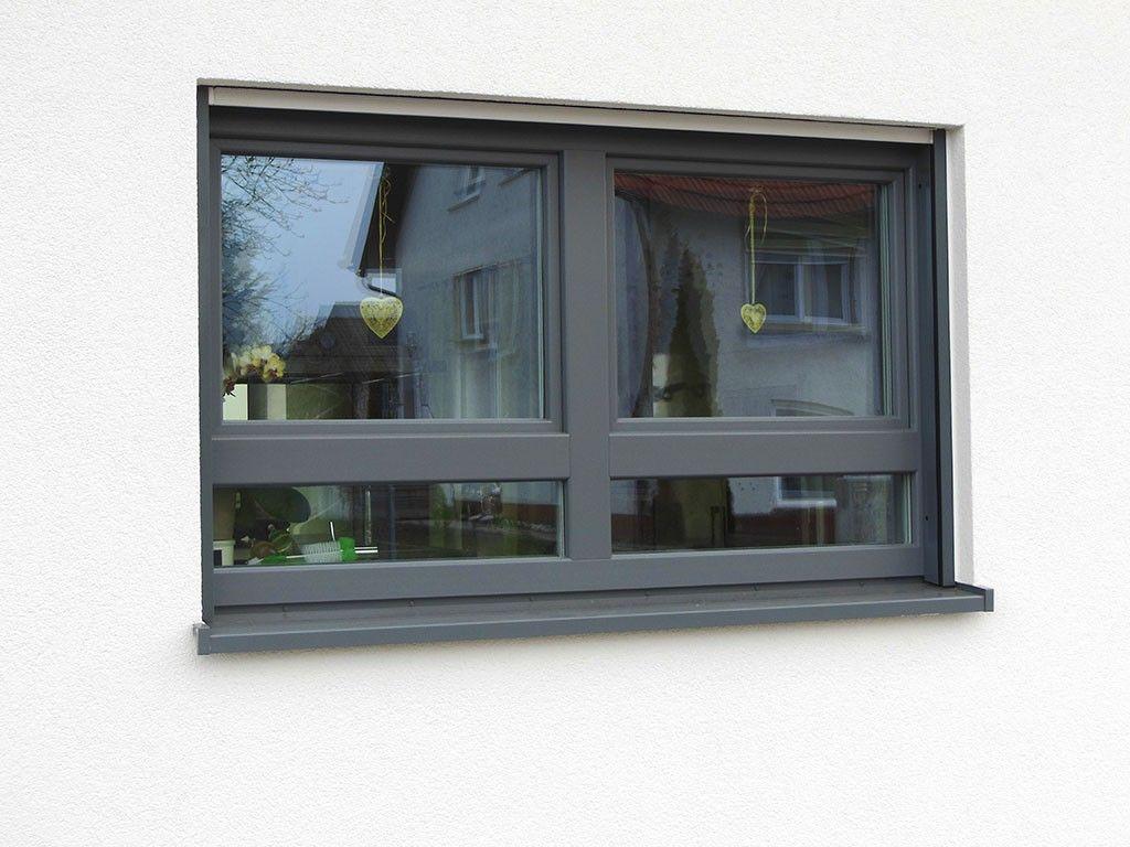 Kunststoffenster In Basaltgrau 1024x768 Jpg 1024 768 Fenster Fenster Und Turen Haus Aussen