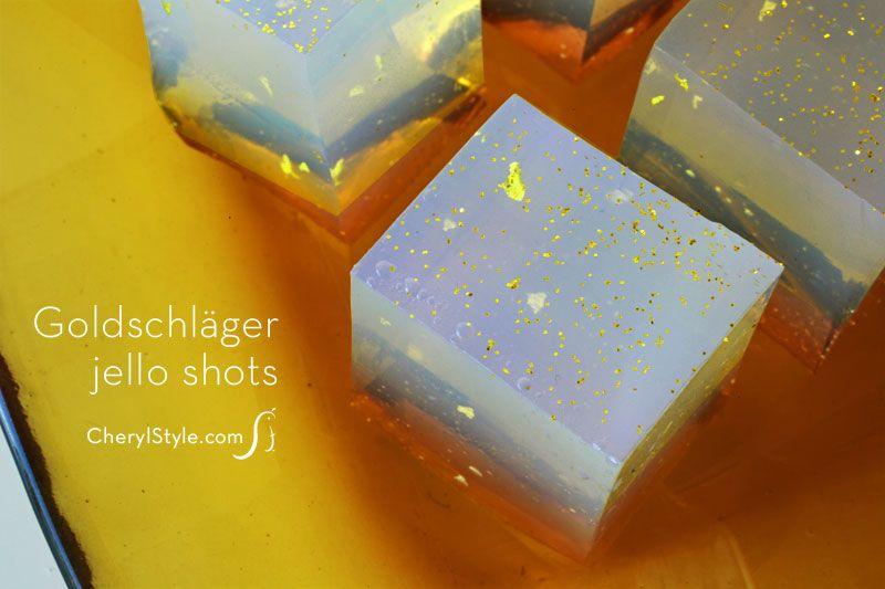 Goldschläger cinnamon jello shots recipe—perfect for an Oscar party | CherylStyle.com