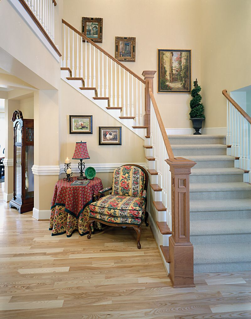 Best Shelley Place Country Farmhouse Stairs Photo From 640 x 480