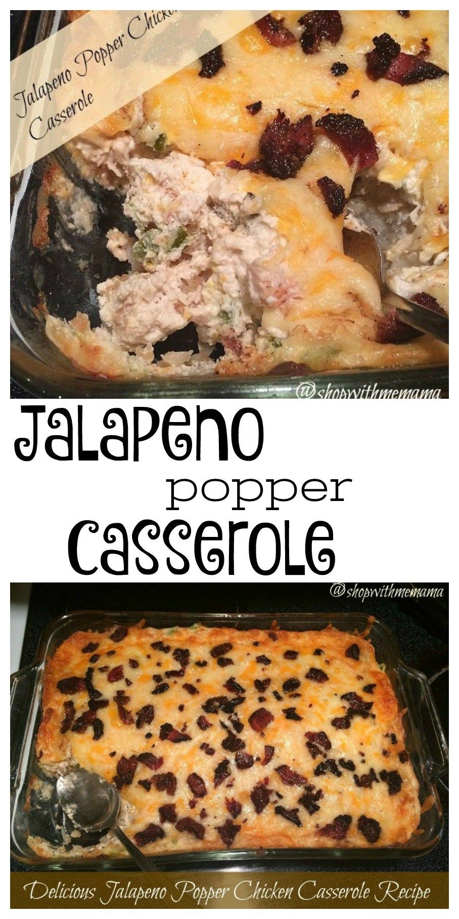Delicious jalapeno popper chicken casserole recipe yummy