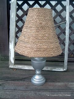 Ballard designs knock off seagrass lamp shade decor crafts ballard designs knock off seagrass lamp shade aloadofball Gallery