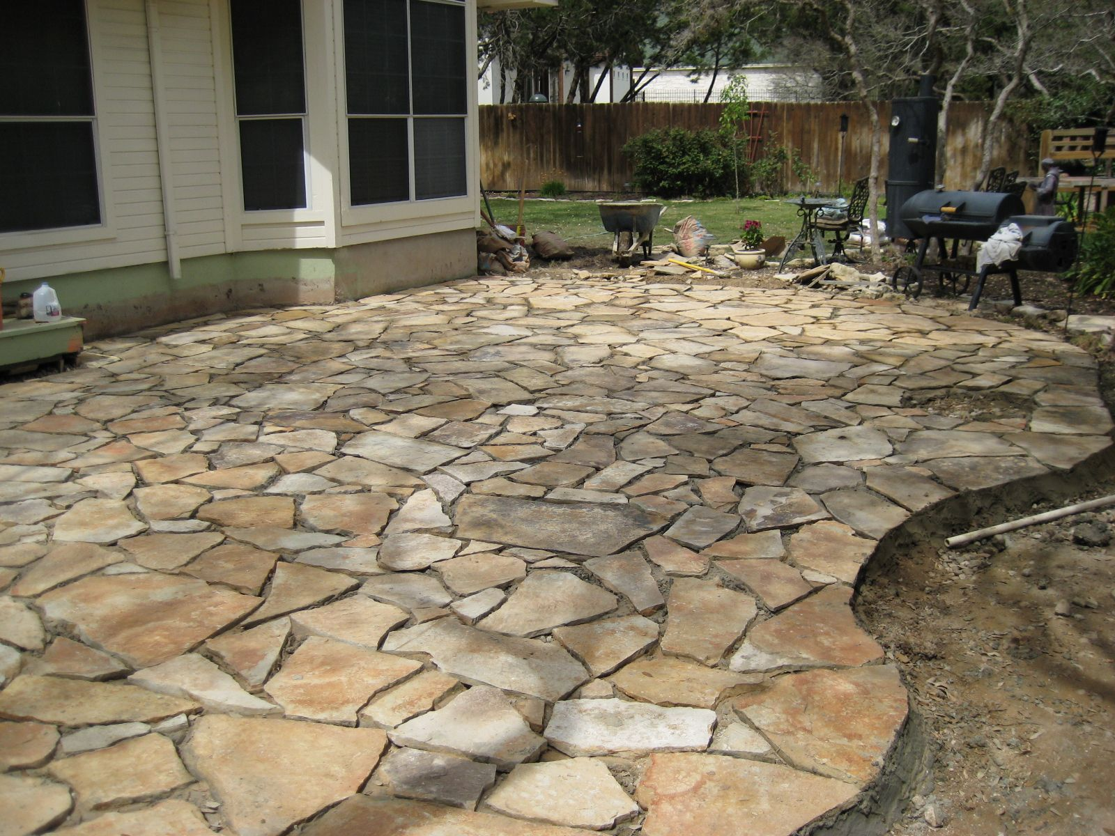 Rock Landscaping Matt Anders Landscape Services Tx