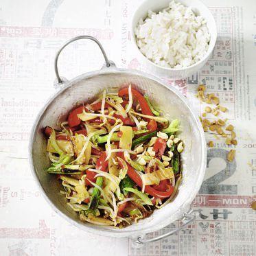 Gemüse-Chop-Suey