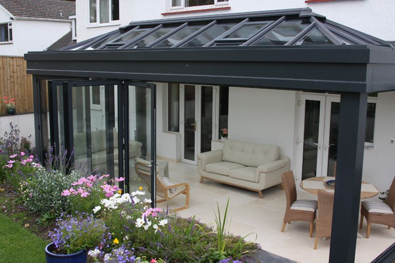 Contemporary grey porch uk google search for Grey upvc porch