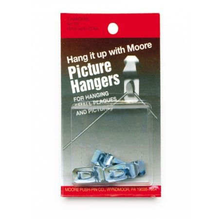 Moore Nail Less Picture Hangers Are Ideal For Hanging Pictures