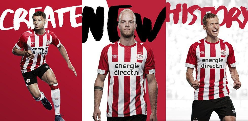PSV Eindhoven 2018 2019 Umbro Home Football Kit 467636a0f