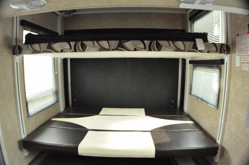 Coolest Bunks Ever Rv Toy Hauler And The Bottom Bunk Folds Into A Couch Rv Bunks