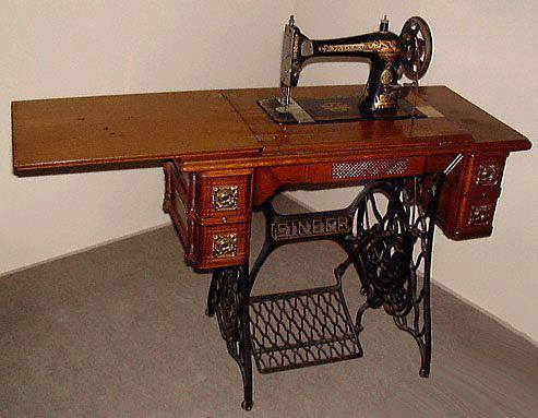 Singer sewing machine..