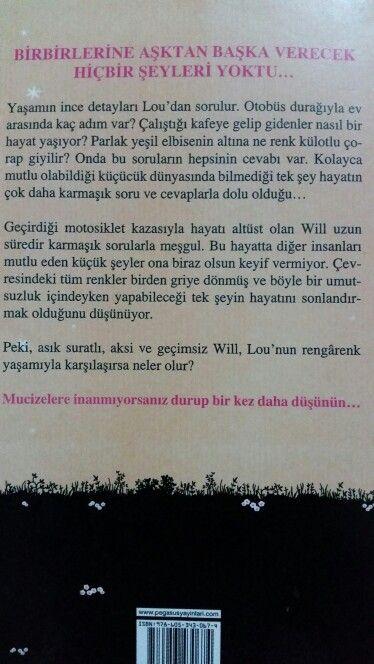 Jojo Moyes Senden Once Ben Arka Kapak Books To Read My Love Reading