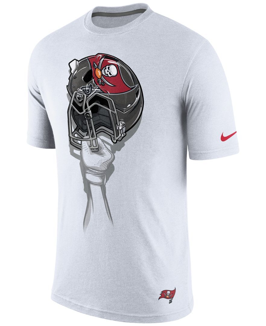nike men u0027s tampa bay buccaneers helmet t shirt products