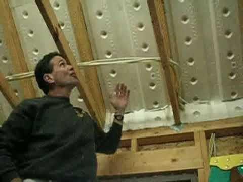 Insulate Roof Foam Baffles Ventilation Mr Hardware Attic Insulation Roof Insulation Diy Insulation