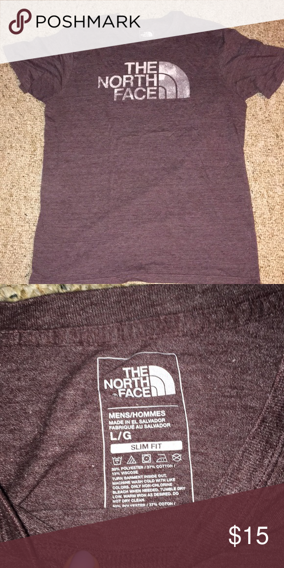 a0e946ced Men's North Face T shirt Hardly worn, great condition soft t shirt ...