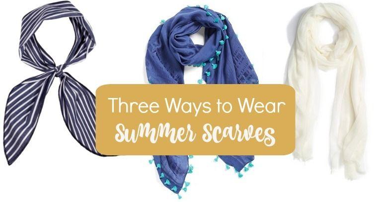 Three Ways to Wear Summer Scarves http://getyourprettyon.com/three-ways-to-wear-summer-scarves/?utm_campaign=coschedule&utm_source=pinterest&utm_medium=Alison%20Lumbatis%20%7C%20Get%20Your%20Pretty%20On&utm_content=Three%20Ways%20to%20Wear%20Summer%20Scarves