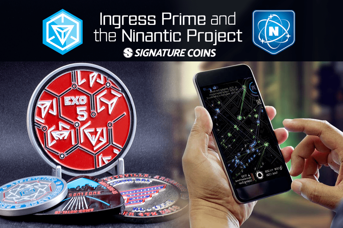 Ingress Prime and the Niantic Project Challenge Coins