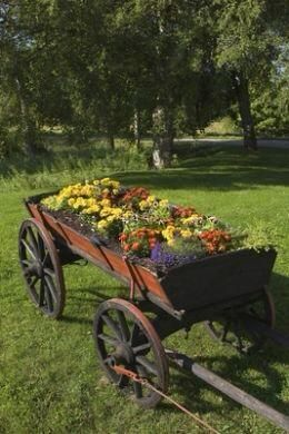 a texas girl 39 s favorites country gardens pinterest charrette roues de chariot et brouette. Black Bedroom Furniture Sets. Home Design Ideas