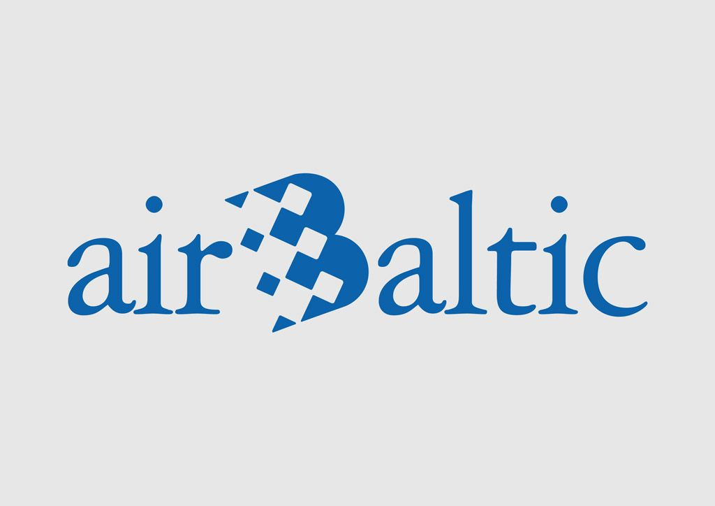 Download Air Baltic Vector Logo Air Baltic Is The Latvian Flag Carrier Airline With Its Hub At Riga International Airline Logo Baltic International Airlines
