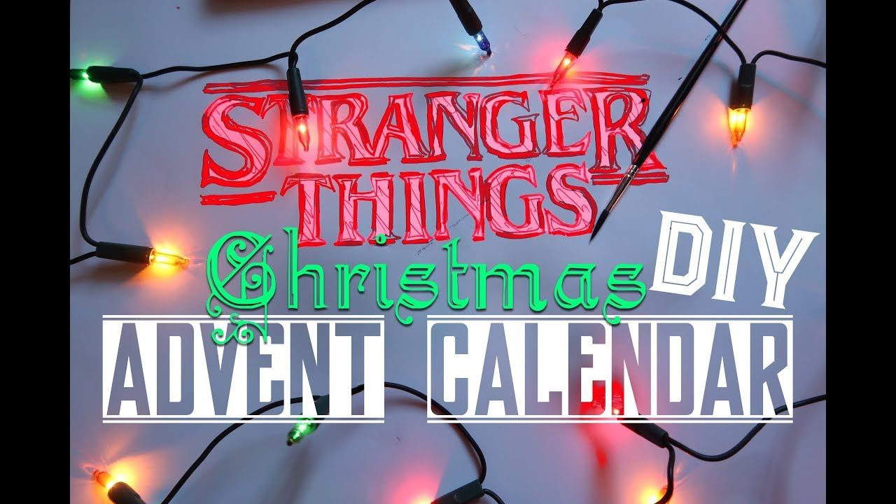 A Stranger Things Christmas.Diy Stranger Things Christmas Advent Calendar