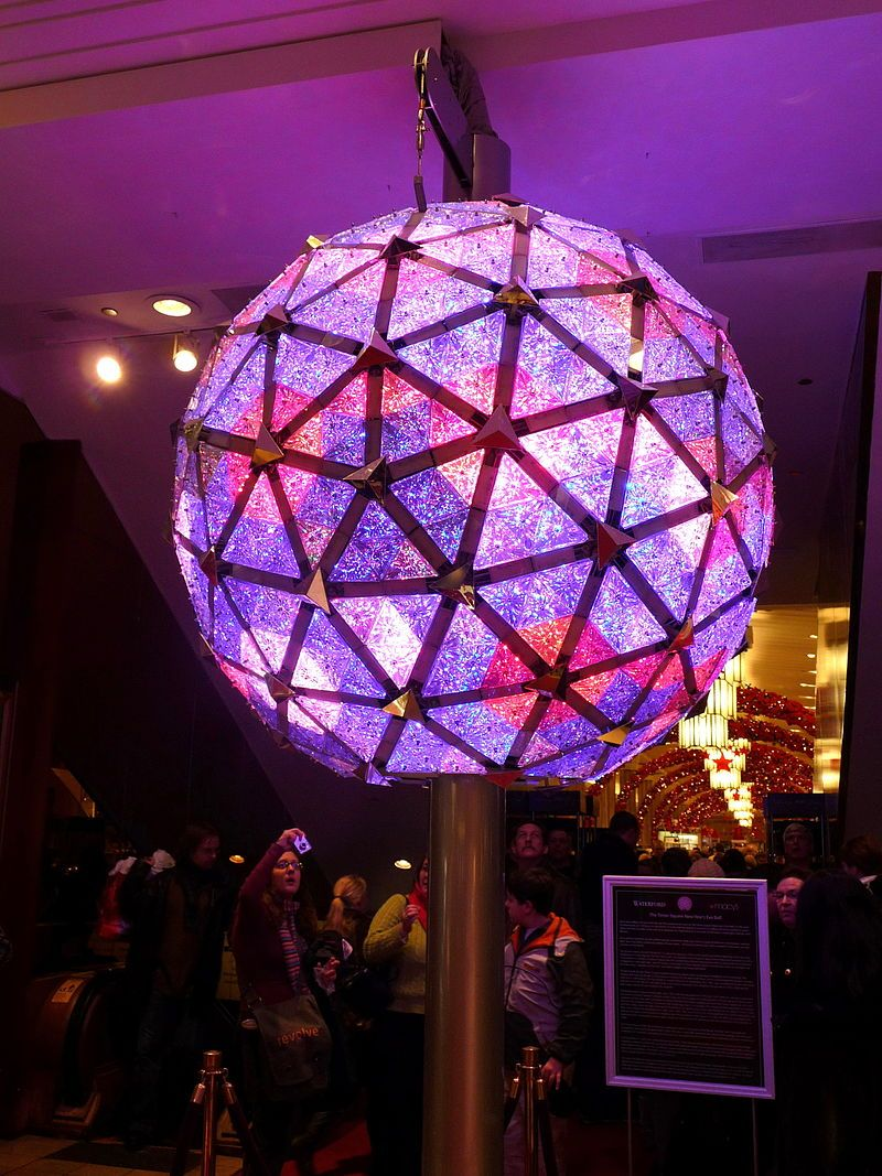 Times Square New Year's Eve Ball 2009 - Times Square Ball - Wikipedia, the free encyclopedia