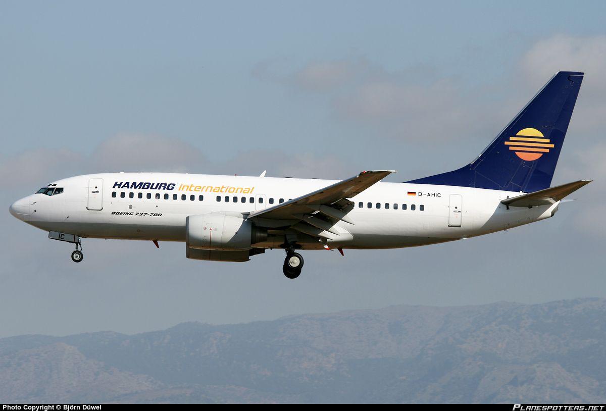 Dahic hamburg international boeing 7377bk boeing 737