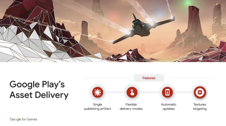 Google Play introduces Asset Delivery system to streamline