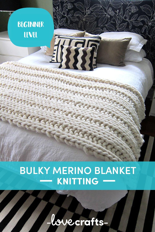 Throws and Rug in Loopy Mango Big Loop   Knitting Patterns ...
