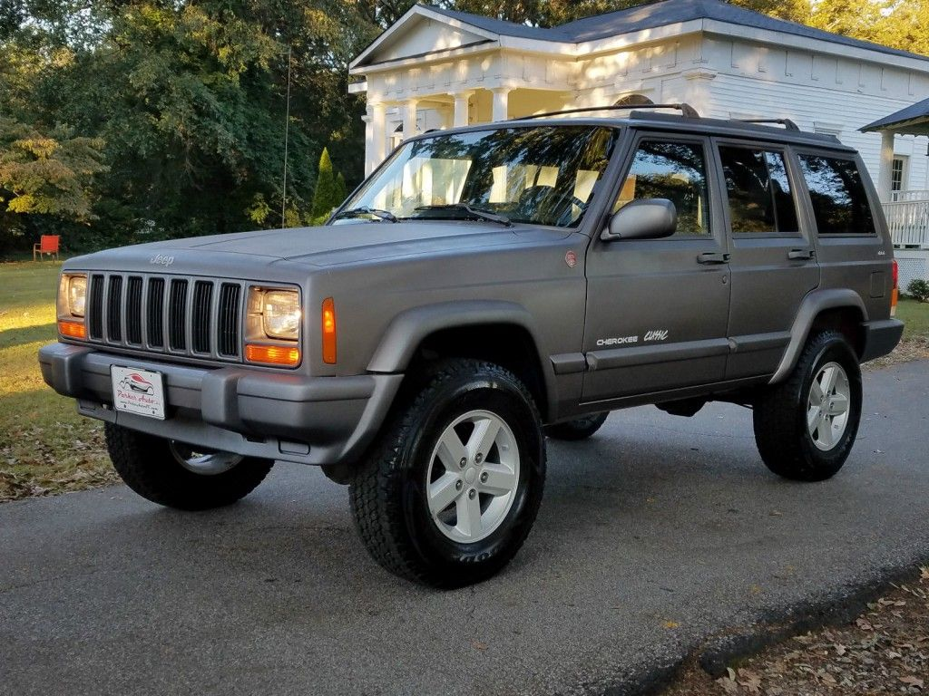 1998 Jeep Cherokee Classic XJ RARE 5 Speed Manual 4X4 4.0