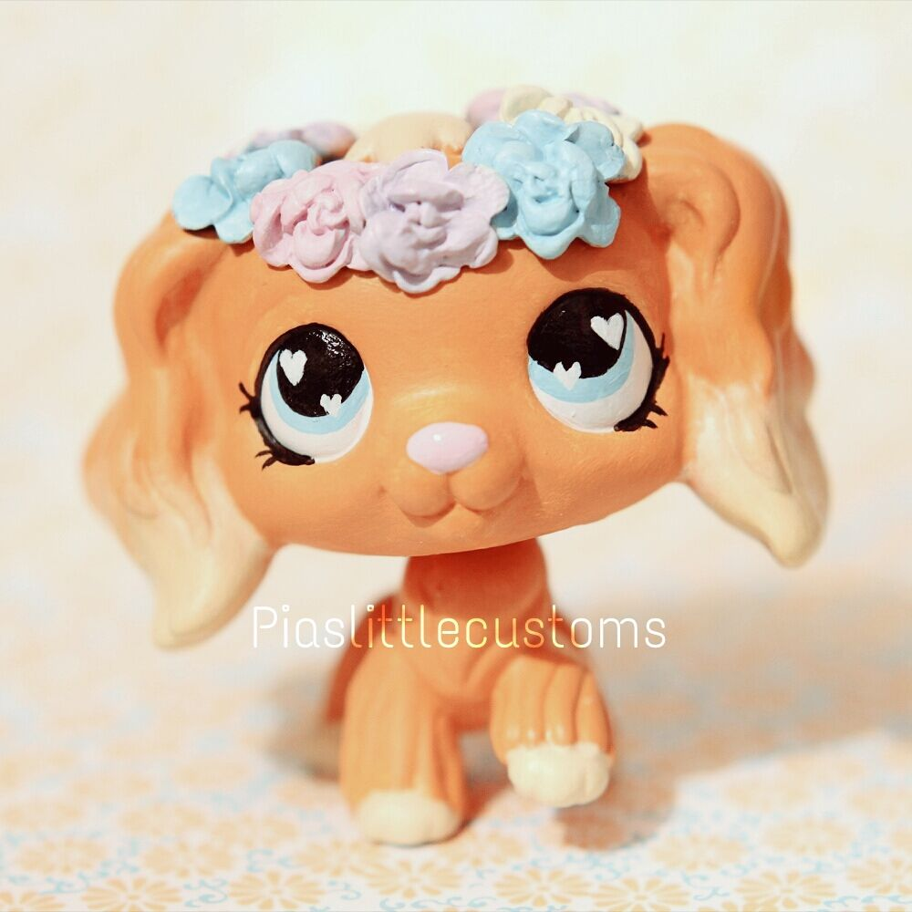 So Cute Flowercrown Lps Pets Lps Dog