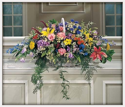 Pictures Of Wedding Altar Flower Arrangements: Church Floral Arrangements For Altars