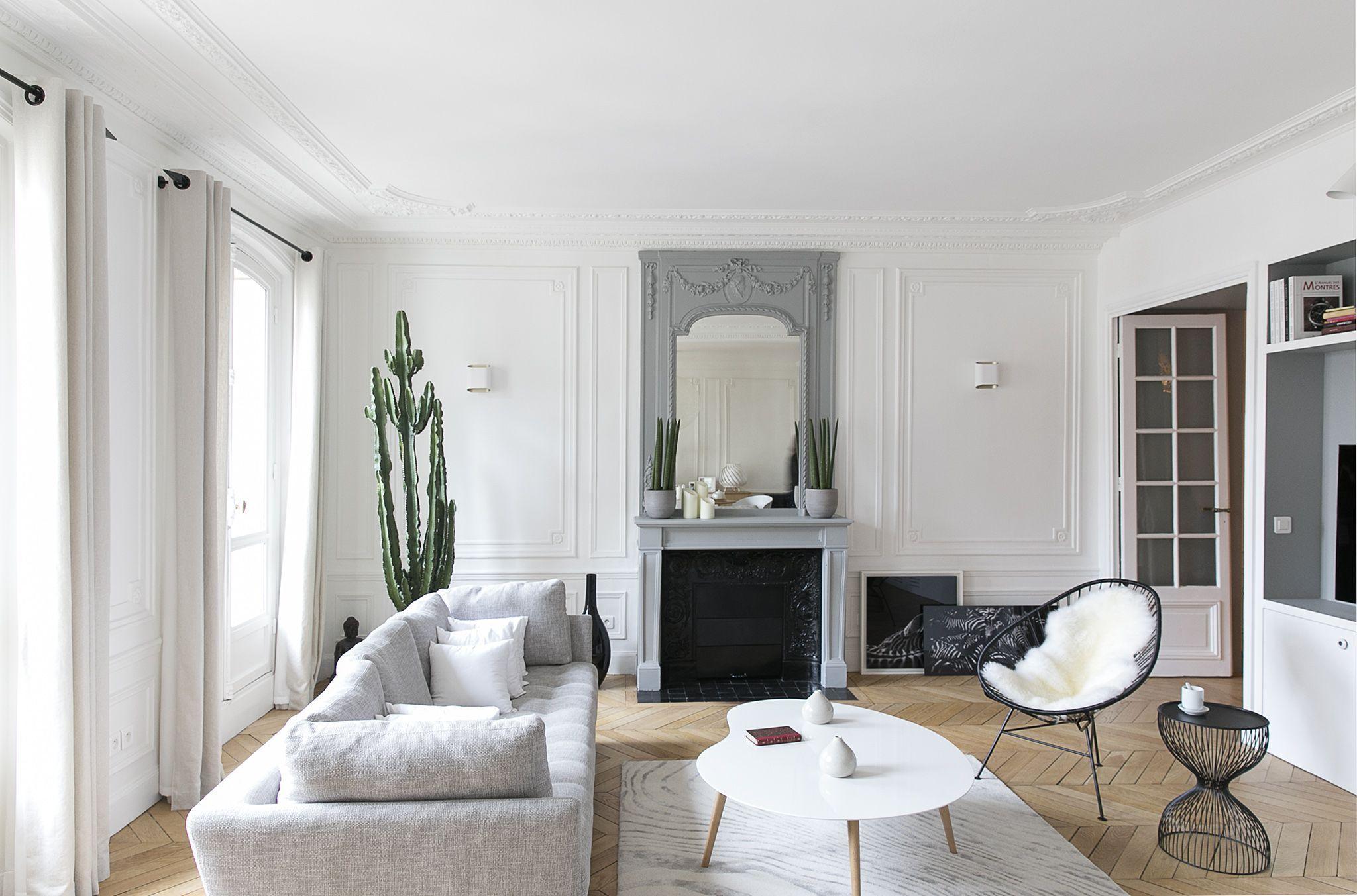 Séjour Appartement parisien- GCG ARCHITECTES | Cozy , where your ...