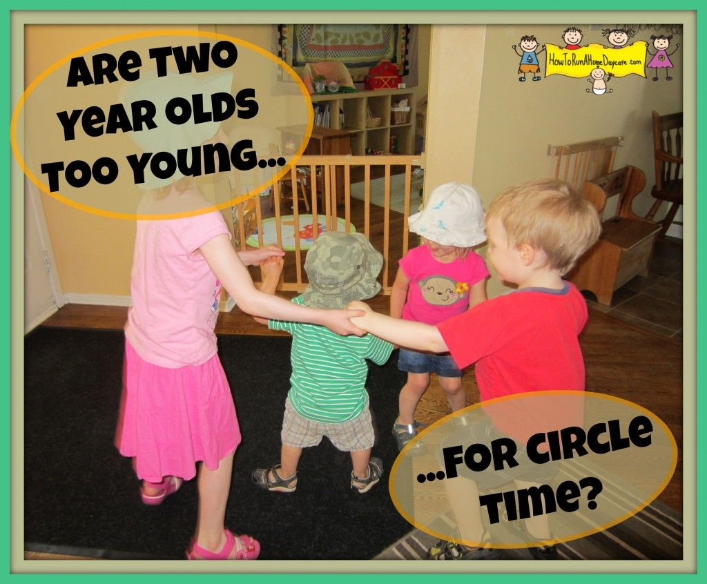 Are Two Year Olds Too Young For Circle Time