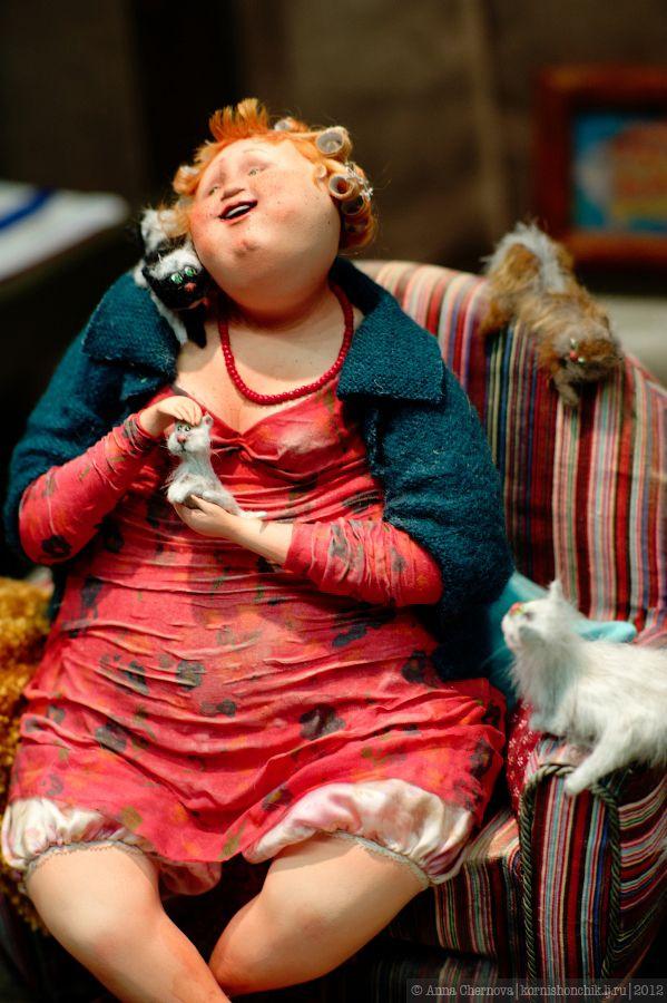 VII Международный Салон Кукол на Тишинке - часть 1