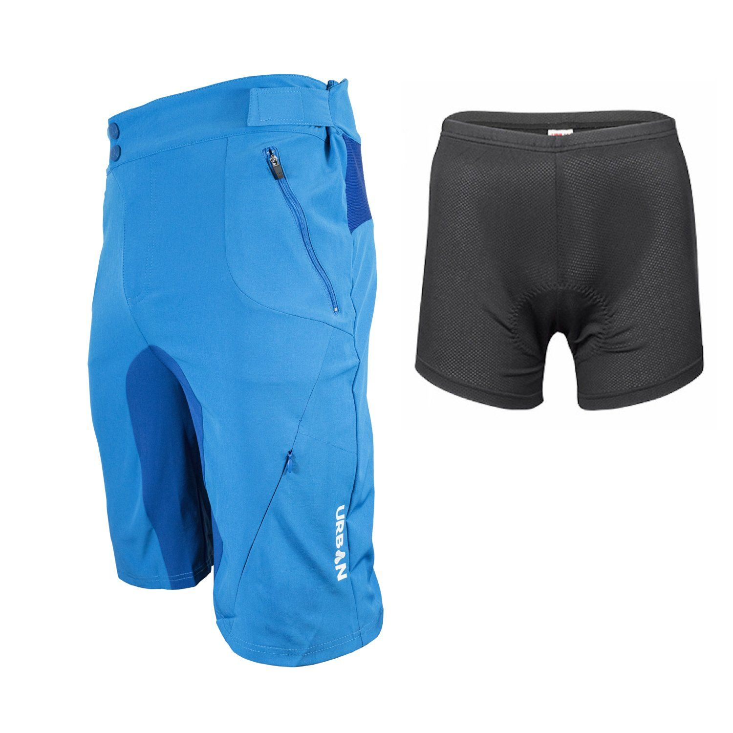 FLEX MTB Trail Shorts - Flex Soft Shell Mountain Bike Shorts with Zip  Pockets and Vents 0681bc424