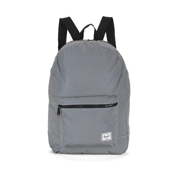 Herschel Supply Co. Day Night Packable Daypack Reflective Backpack ( 48) ❤  liked on Polyvore featuring bags 3520a53124c16