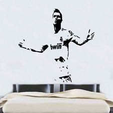 Ronaldo Football Real Madrid Quote Wall Stickers Art Room ...