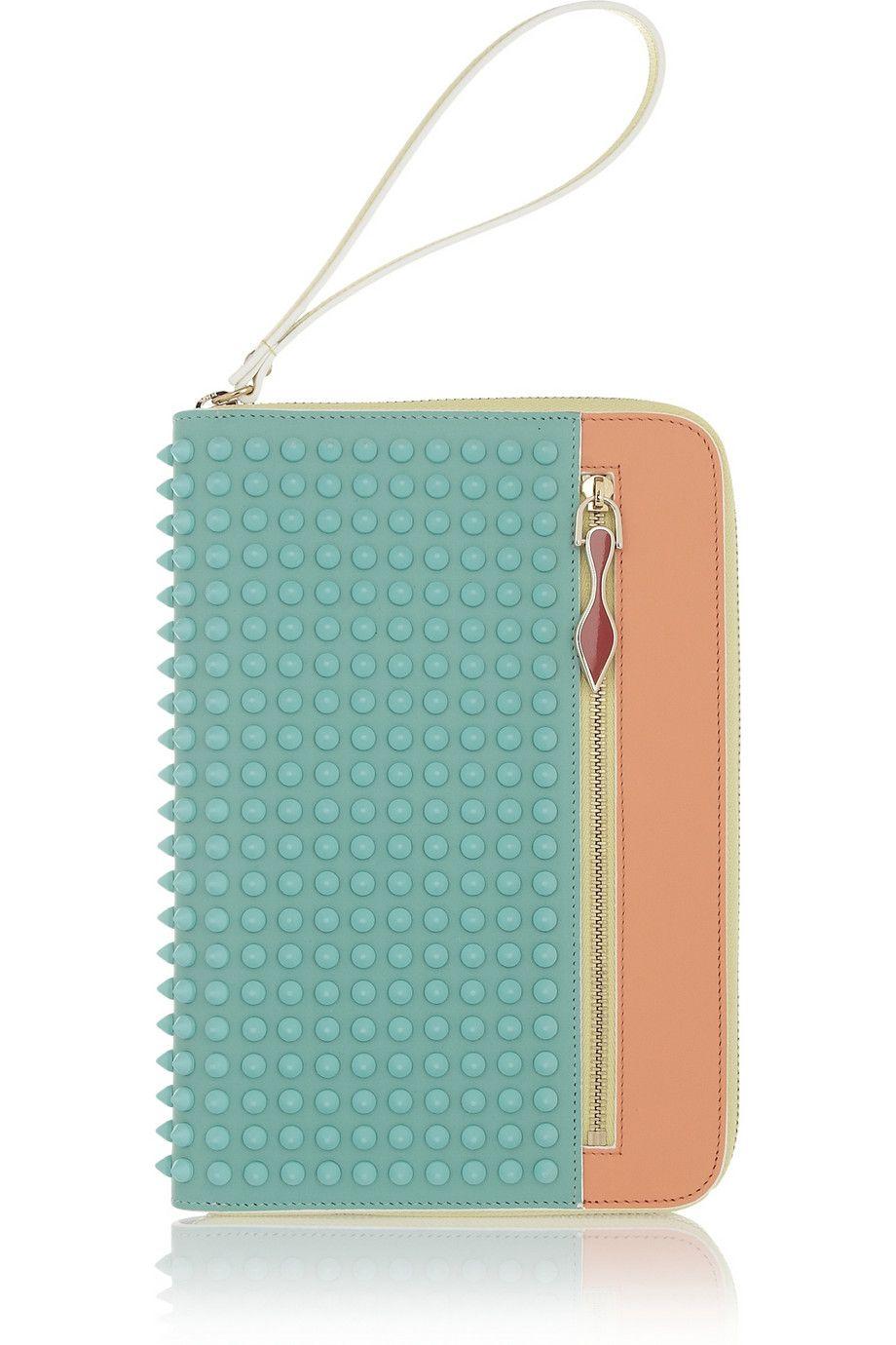 408f7a0ab9f Christian Louboutin | Cris studded leather iPad Mini case | NET-A ...