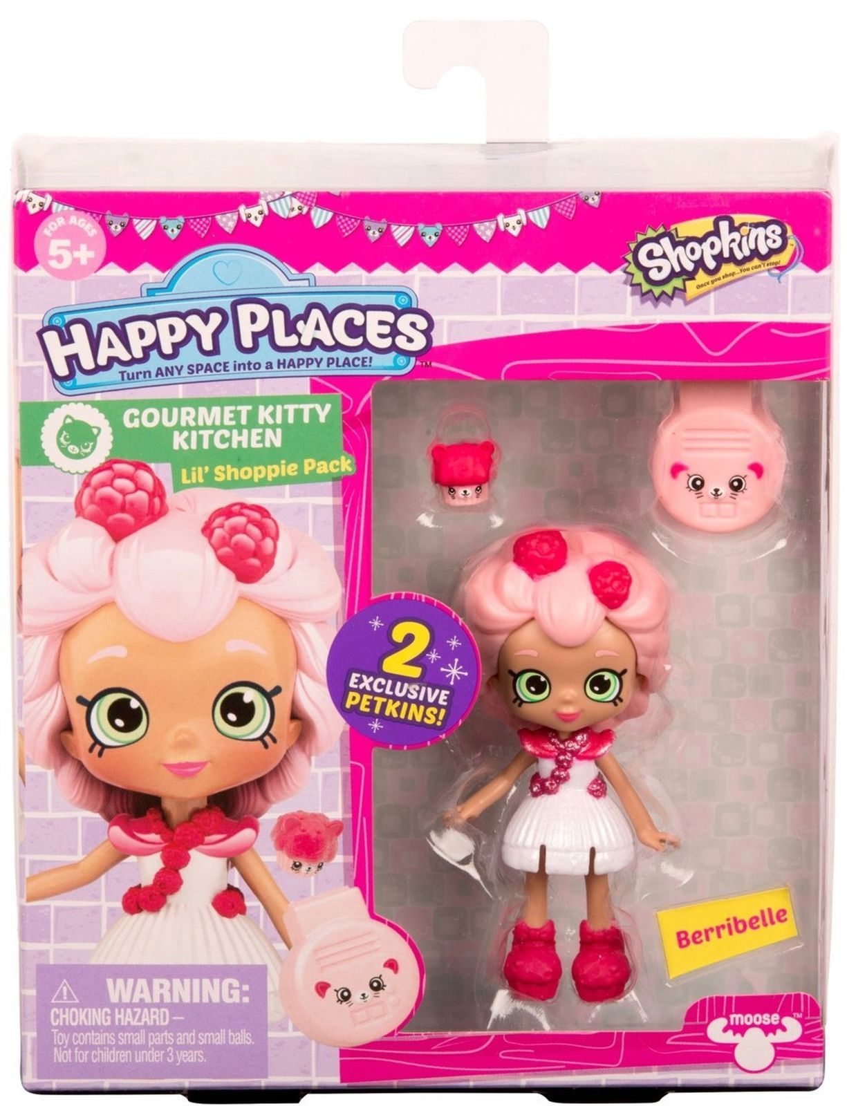 Happy places shopkins doll single pack berribelle new bryleigh