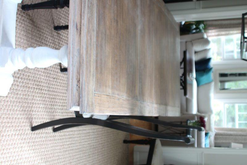 Limed Oak Dining Table