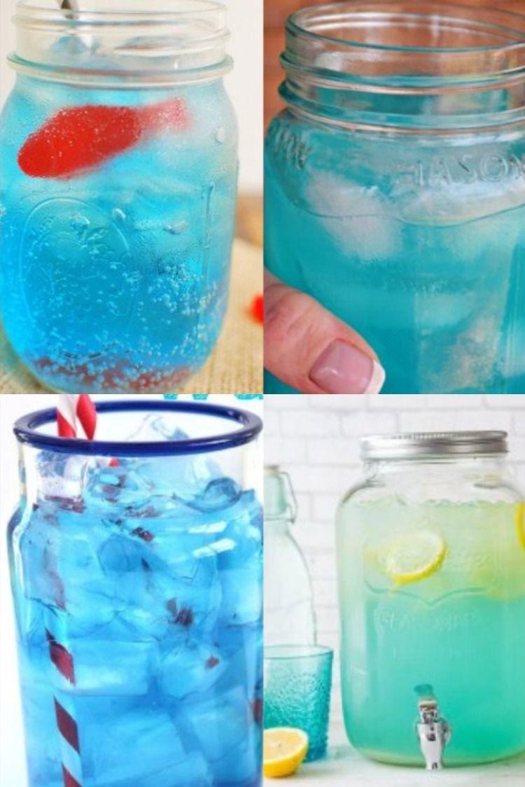 The Best Blue Lemonade Party Punch