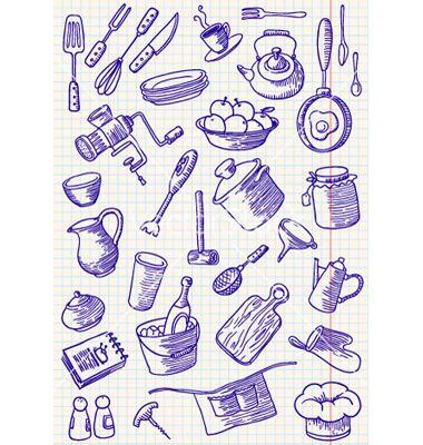 Kitchen vector on VectorStock®