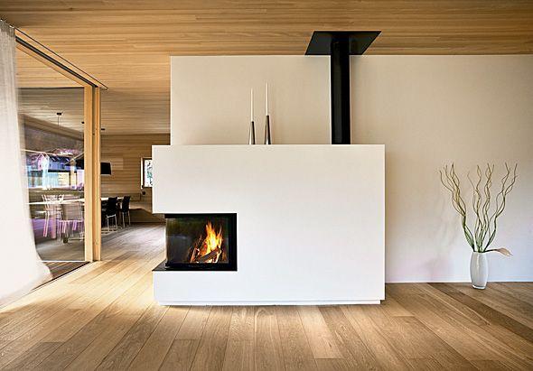 Wohnzimmer - Kamin Kamin Pinterest Hearths, Nest and Cabin - wohnzimmer kamin design