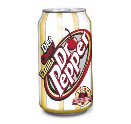 Diet Cherry Vanilla Dr Pepper Best Soda Ever I Dont Think They