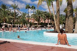 Clubhotel Riu Papayas Playa Del Ingles Gran Canaria Tourism Outdoor Outdoor Decor